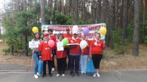 Спортландия Веселые старты в Барановичском районе