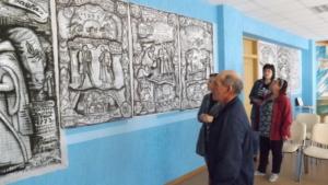 Выставка графической живописи (3)
