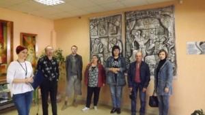 Выставка графической живописи (5)